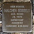 Stolperstein Bad Bentheim Am Berghang 5 Malchen Gossels.JPG