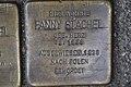 Stolperstein Duisburg 500 Altstadt Universitätsstraße 30 Fanny Stachel.jpg