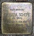 Stolperstein Goßlerstr 21 (Fried) Barbara Scheff.jpg