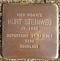 Stolperstein Horstmar Gossenstraße 1 Kurt Steinweg.jpg