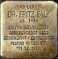 Stolperstein Köln, Dr. Fritz Falk (Vogelsanger Straße 1).jpg