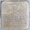 Stolperstein Leo Zeilberger by 2eight 3SC1474.jpg
