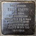Stolperstein Paul Knorr Bornemannstraße 14 0100.JPG