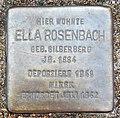 Stolperstein Verden - Ella Rosenbach (1884).jpg