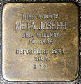 Stolpersteine Krefeld, Meta Joseph (Oelschlägerstraße 63).jpg