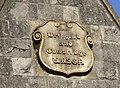 Stone boss on sheltered housing - Bridgend - geograph.org.uk - 1606415.jpg