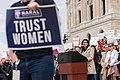 StopTheBan Erin May Quade speaks at Stop Abortion Bans Rally.jpg