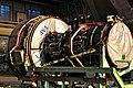 Stored CF6-80C2 turbofan in maintenance hangar.jpg