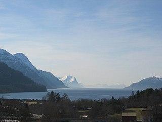 Storfjorden (Sunnmøre) fjord in Sunnmøre, Norway