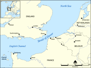 Map Of France North Coast.Clearing The Channel Coast Wikipedia