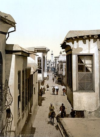 Damascus Straight Street - Image: Street called Straight Detroit