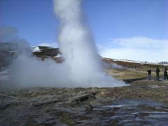 Strokkur Eruption