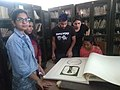 Students check out the rare-books section of the Goa University -5.jpg