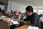 Students in class at UNSYIAH (4873506267).jpg