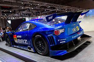 Subaru BRZ GT300 rear 2011 Tokyo Motor Show.jpg