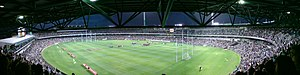 2008 international rules series at Subiaco Oval, Perth, Western Australia