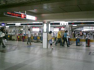 Umeda Station - Station mezzanine