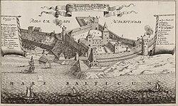 Bild från 1679 i Suecia antiqua et hodierna
