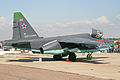 Sukhoi Su-25SM Frogfoot 06 red (8584622490).jpg