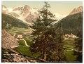 Sulden, the Schontauftspitze (i.e., Schontaufspitze) and Suldenspitze, Tyrol, Austro-Hungary-LCCN2002711128.tif