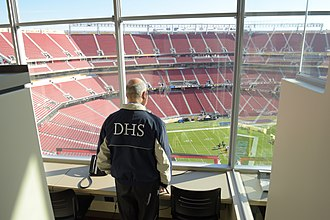 Jeh Johnson - Johnson met with law enforcement officials and National Football League security prior to Super Bowl 50