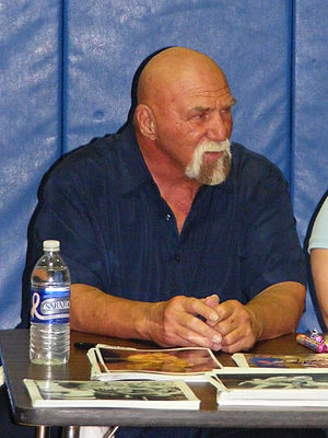 Superstar Billy Graham at a 2CW event in May 2008