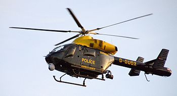 Sussex Police helicopter H900 (The Eye in the Sky)