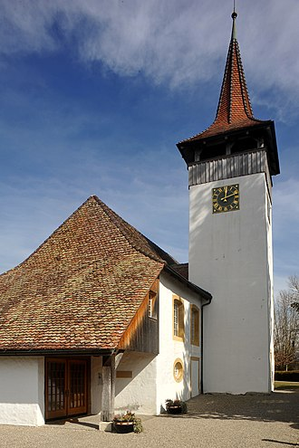 Sutz-Lattrigen - Sutz-Lattrigen village church