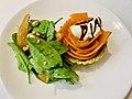 Sweet potato, caramelized onions, pears dish at QAG Cafe.jpg