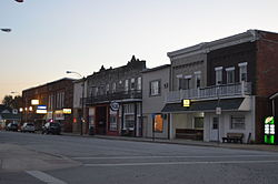 Sycamore Avenue downtown