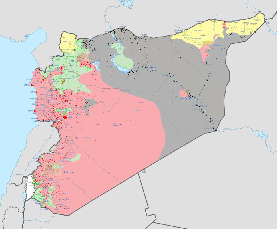 Syrian civil war 5 October 2014
