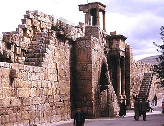 Solomon (Byzantine general) - Ruins of the Byzantine walls of Theveste, one of the many sites restored and fortified under Solomon.