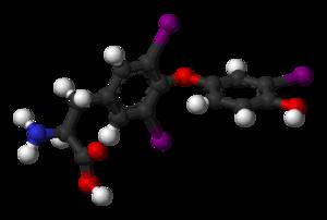 Triiodothyronine - Image: T3 3D balls