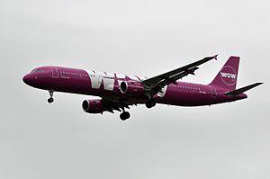 WOW air - WOW air Airbus A321-200