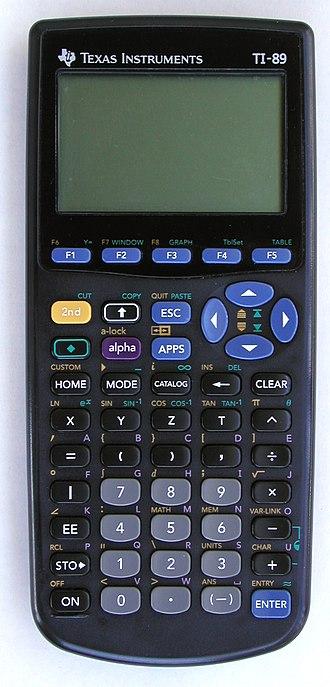 TI-89 series - A TI-89
