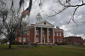 Treutlen County Courthouse - Image: TREUTLEN COUNTY COURTHOUSE