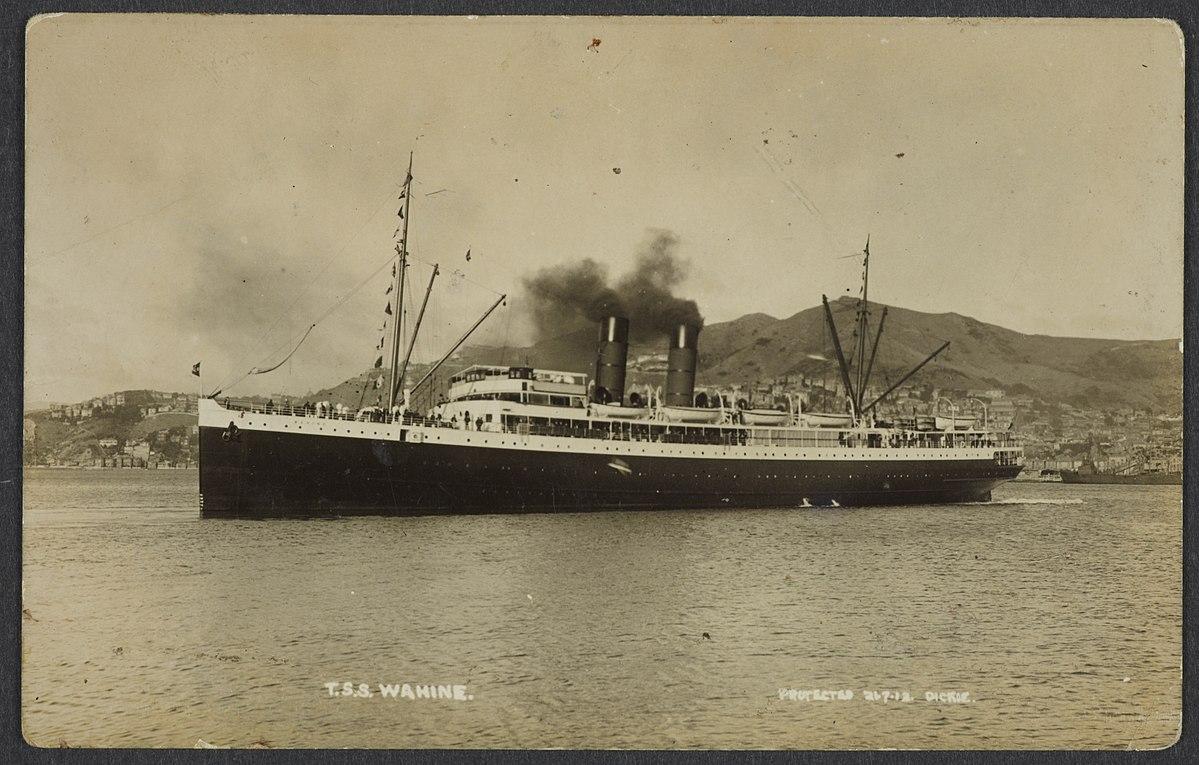 Tss Wahine Wikipedia