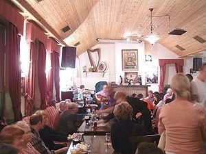 Leo's Tavern - The interior of Leo's Tavern, 2005.
