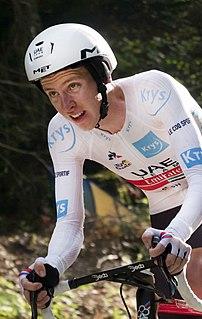 Tadej Pogačar Slovenian cyclist