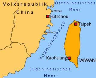 Streit zwischen der Volksrepublik China und der Republik China