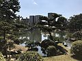 Takueichi Pond and Kokokyo Bridge in Shukkei Garden 3.jpg