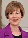 Tammy Baldwin, official portrait, 113th Congress (cropped).jpg