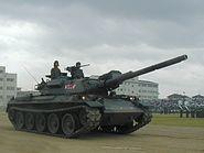 Tank type74 ja02