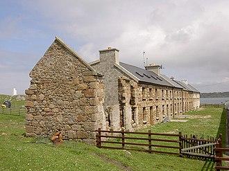 Rutland Island, County Donegal - Tarent Street, Rutland Island, built 1789
