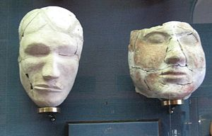 Tashtyk culture - More masks in Moscow