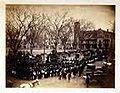 Taunton Massachussetts Circle Large, Masonic Funeral in pencil on back AH Blake 1863 Soldier.jpg