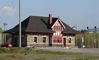 Northlander - Temagami railway station