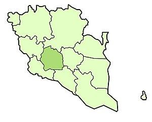 Temerloh District - Image: Temerloh district highlighted