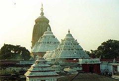 The Jagannath Temple at Puri