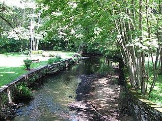Ten Mile River (Seekonk River tributary) - At Freeman Street in North Attleborough